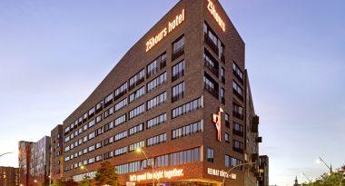 25hours hotel Außenansicht