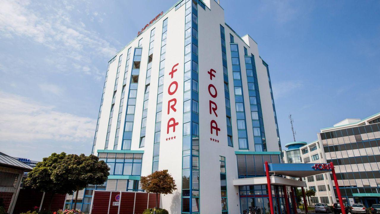 Fora Hotel Hannover Außenansicht