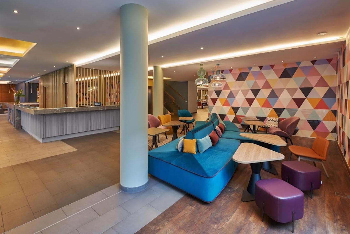 Hampton By Hilton Berlin City West Lobby