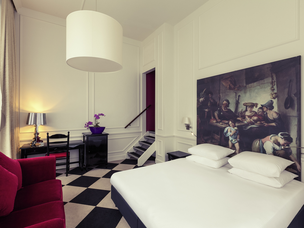Mercure Amsterdam Centre Canal District Zimmer