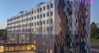 MOXY Hotel Oslo Außenansicht