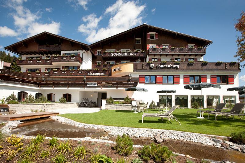 Hotel Sonnenburg Außenansicht