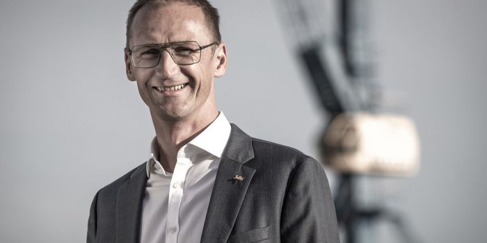 Daniel Bojahr, kreativer General Manager des Radisson Blu Hotel Rostock, ist der Erfinder der Wal Do-Schnitzeljagd.