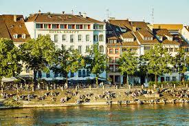 Hotel Krafft Basel Außenansicht