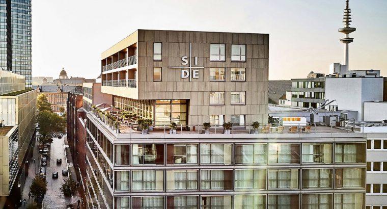 Side Design Hotel Hamburg Außenansicht