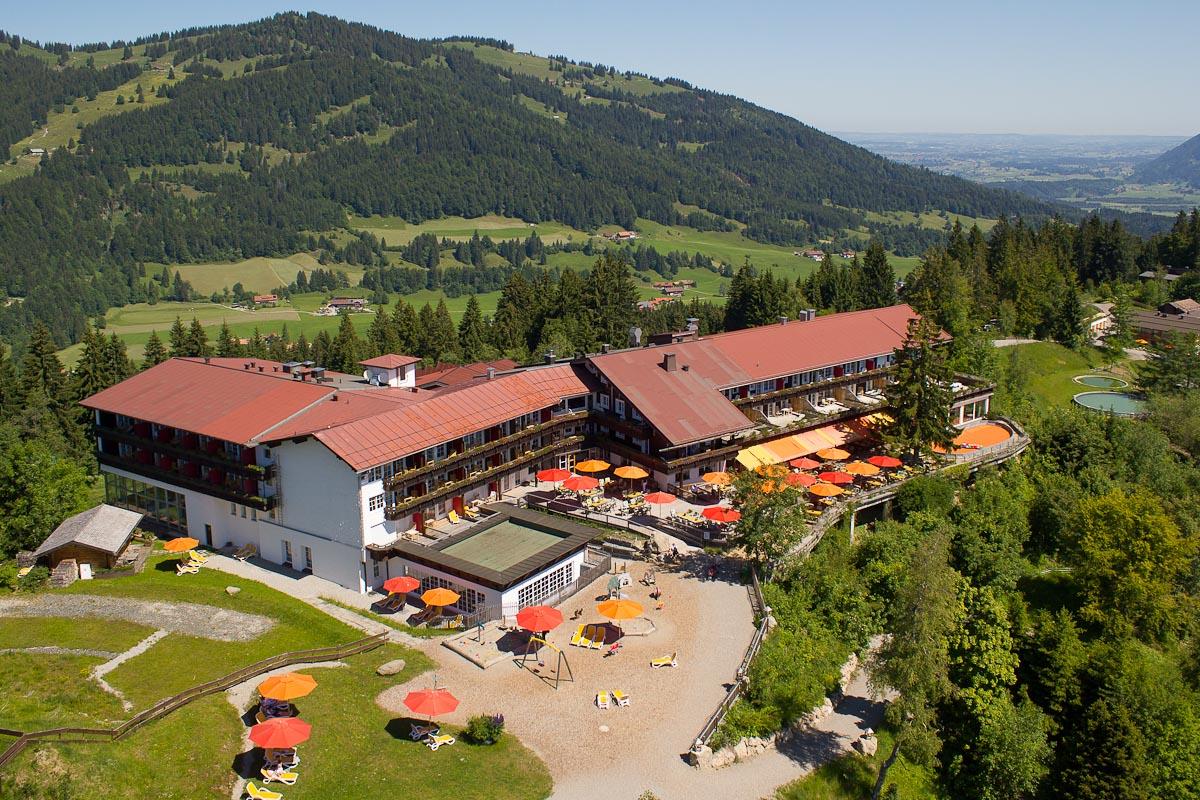 Allgäuer Berghof Außenansicht