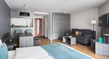 Living Hotel Nürnberg Zimmeransicht