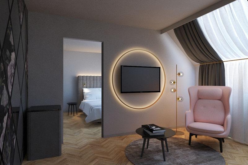 Hotel Am Konzerthaus Zimmerbild