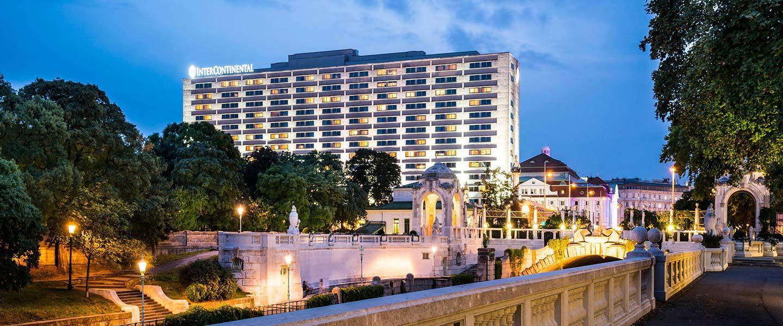 Intercontinental Vienna Außenansicht